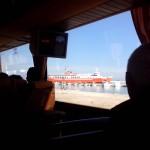 Cesta busem & trajektem do Zante Town